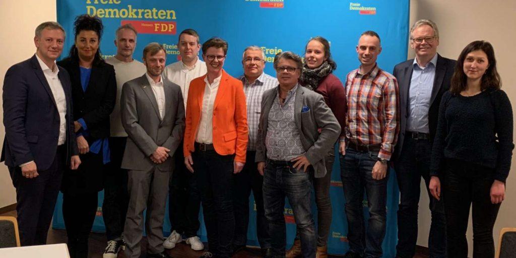 Neuer Vorstand FDP Limburg Weilburg
